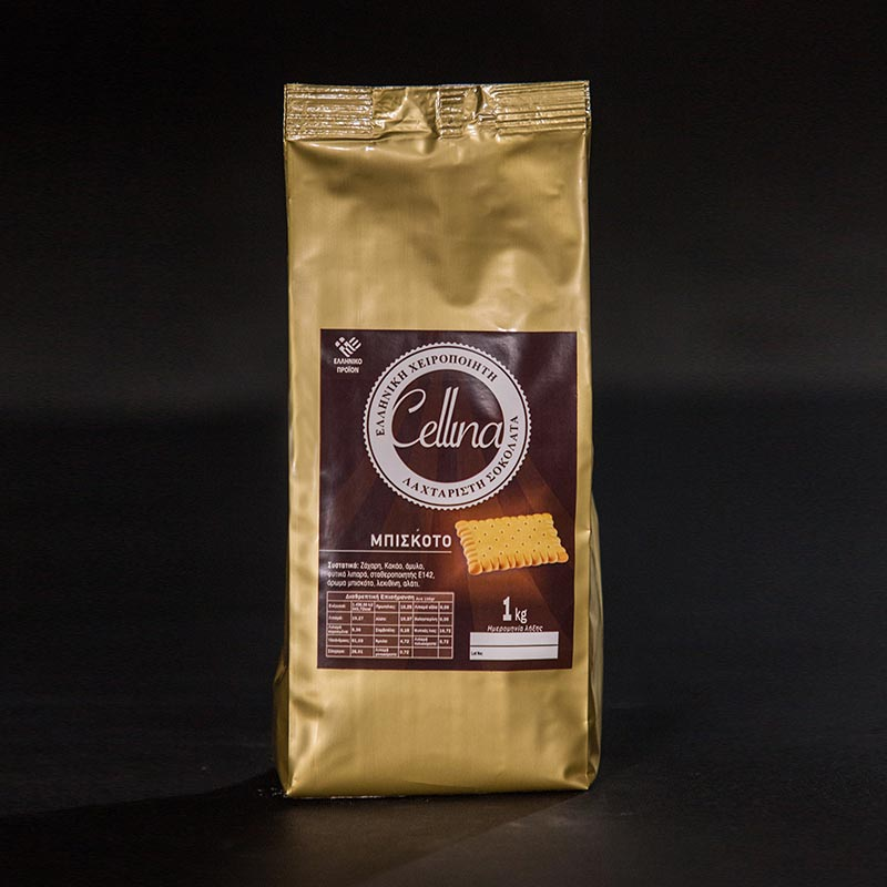 CHOCOLATE WITH BISCUIT FLAVOR 1KG