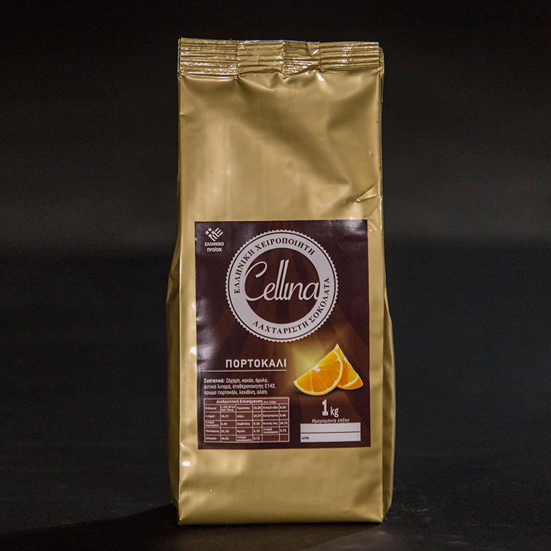 CHOCOLATE WITH ORANGE FLAVOR 1KG